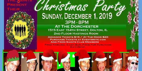 Saints Christmas Party tickets
