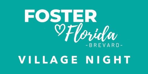 Foster Florida Brevard Village Night