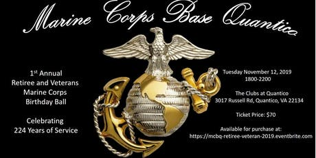 Marine Corps Veterans and Retirees tickets