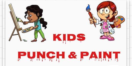 Kids Punch & Paint