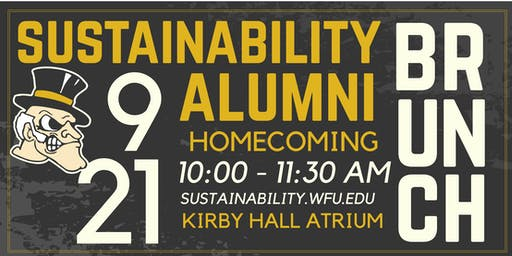 WFU Environment and Sustainability Homecoming Celebration