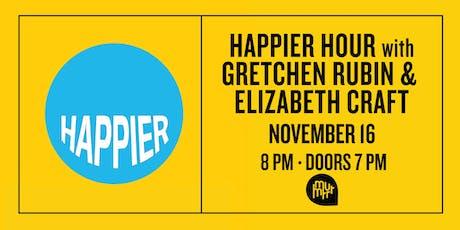 Happier Hour: An Evening with Gretchen Rubin & Elizabeth Craft tickets