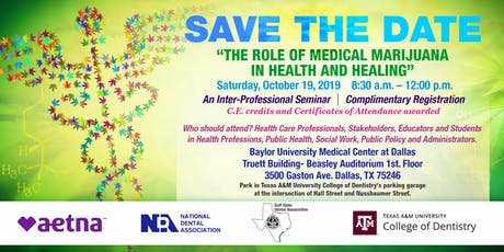 """""""The Role of Medical Marijuana in Health and Healing"""" tickets"""