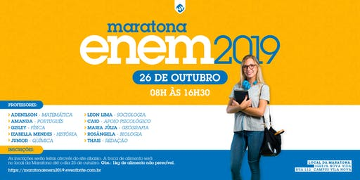 Maratona ENEM 2019