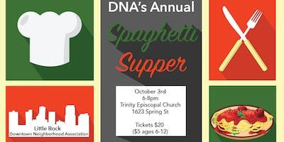 DNA Spaghetti Supper