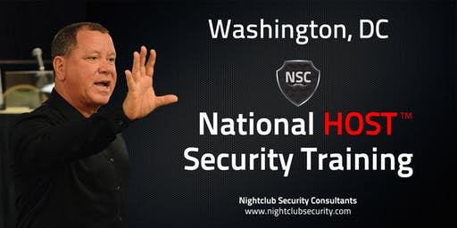 Washington, DC | National HOST Security Training | Sep 25th & 26th