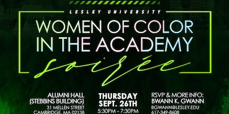 Lesley University Women of Color Soiree tickets