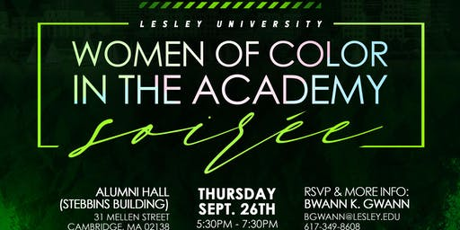 Lesley University Women of Color Soiree
