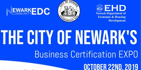 Newark Business Certification Expo tickets