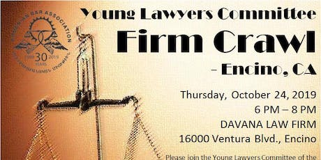 ArmenBar Young Lawyers Firm Crawl - Fall 2019 tickets