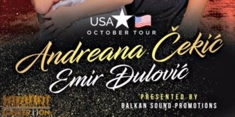 Andreana Cekic & Emir Dulovic tickets