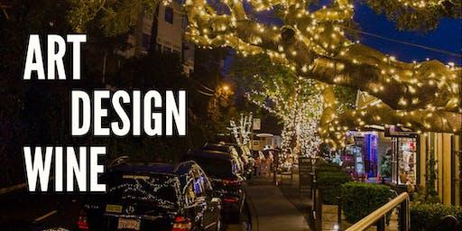 Art, Design & Wine on Ark Row
