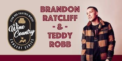 """Wine Country"" Concert: Brandon Ratcliff & Teddy Robb"