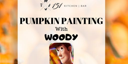 Pumpkin Painting with Woody!