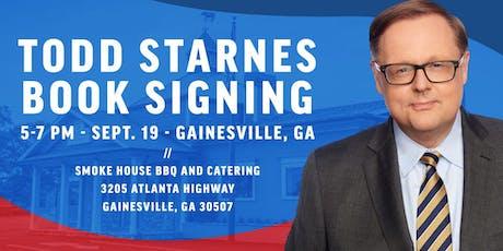 Todd Starnes Book Signing - Gainesville, GA tickets