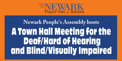 Town Hall Meeting for the Deaf/Hard of Hearing and Blind/Visually-Impaired
