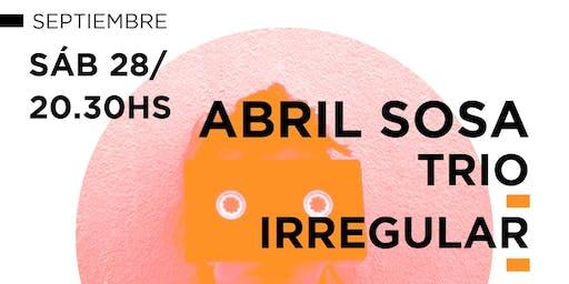 Abril Sosa Trio en El Multi.