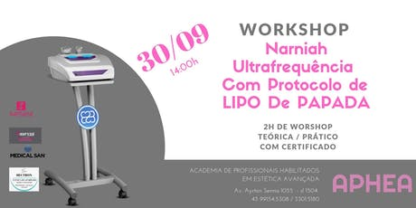Workshop : Narniah - A única plataforma de Ultrafrequência. ingressos