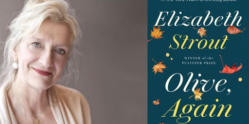 Elizabeth Strout - Author Appearance, Book Signing and Fundraiser