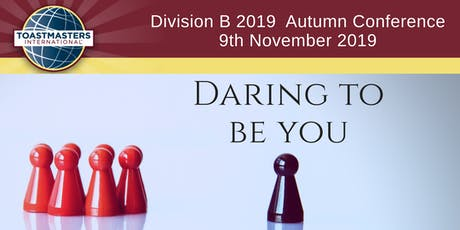 Toastmasters Division B 2019 Autumn Conference tickets