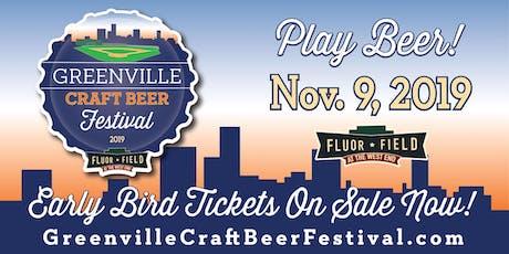 2019 Greenville Craft Beer Festival tickets