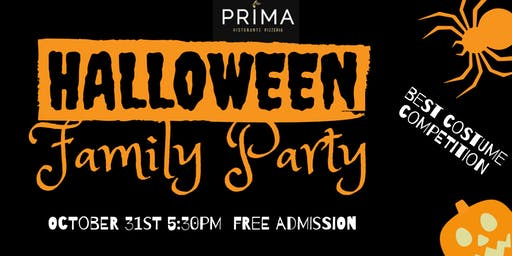 Halloween Family Party