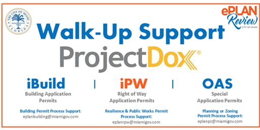 Walk-Support | In-Person Help | No Ticked Needed | Oct 07 - 11, 2019 | 10 am to 1 pm