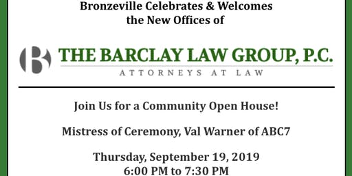 The Barclay Law Group Community Open House