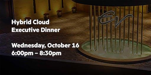 Hybrid Cloud Executive Dinner