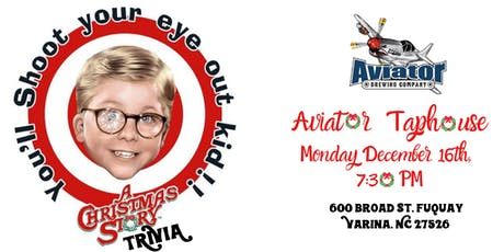 A Christmas Story Trivia at Aviator Brewing Tap House tickets