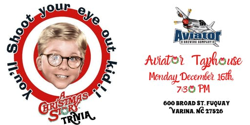 A Christmas Story Trivia at Aviator Brewing Tap House
