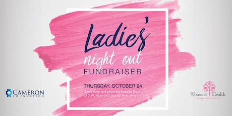 Cameron Hospital Foundation's Annual Ladies' Night Out Fundraiser tickets