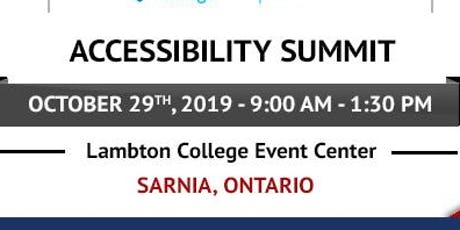2019 City of Sarnia Accessibility Summit tickets