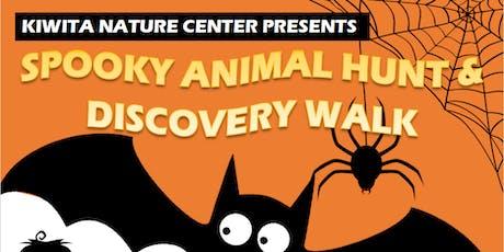Spooky Animal Hunt & Discovery Walk tickets