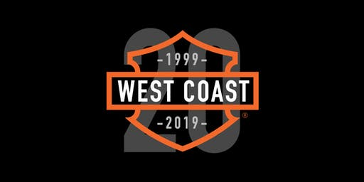 West Coast Harley-Davidson 20th Anniversary Party