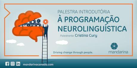 Palestra Introdutória à Programação Neurolinguística - DIA 25 tickets