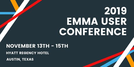 2019 EMMA User Conference tickets