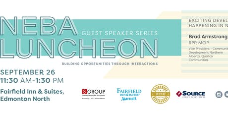 NEBA Luncheon with Guest Speaker: Brad Armstrong, Qualico Communities tickets