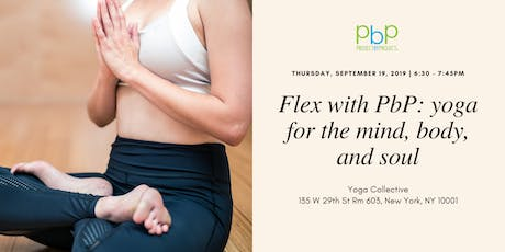 Flex with PbP: yoga for the mind, body and soul tickets