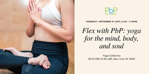Flex with PbP: yoga for the mind, body and soul