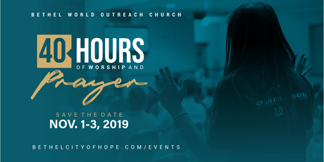 40 Hours of Prayer and Worship tickets