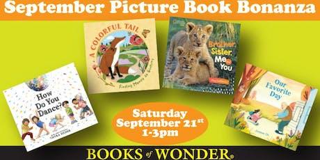 Uptown September Picture Book Bonanza! tickets