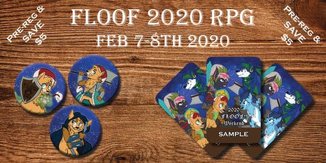 Floof!! 2020 RPG tickets