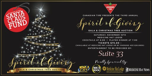 Spirit of Giving Gala & Christmas Tree Auction