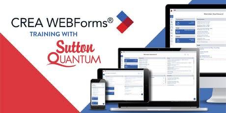Session: CREA Webforms 2019 Training tickets