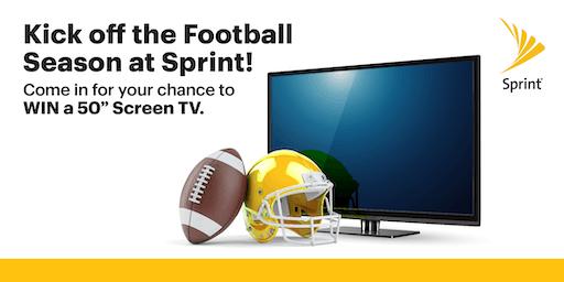 Kick off Football at Sprint