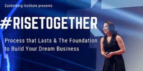 Zuckerberg Institute Presents  - To Build Your Dream Business tickets