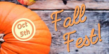 3rd Annual Fall Fest! tickets