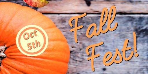 3rd Annual Fall Fest!