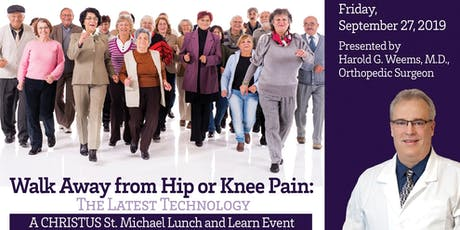 Total Knee Replacement Lunch and Learn Sept. 2019 tickets